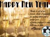 EyeCandyTO Wishing you a Happy NewYear