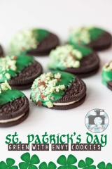 St. Patrick's Day: Green With Envy Cookies